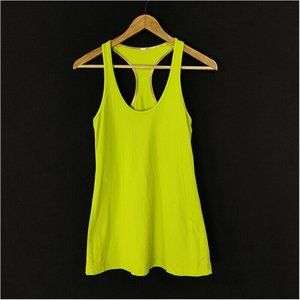 Lululemon Cool Racerback Tank Top Lime Green
